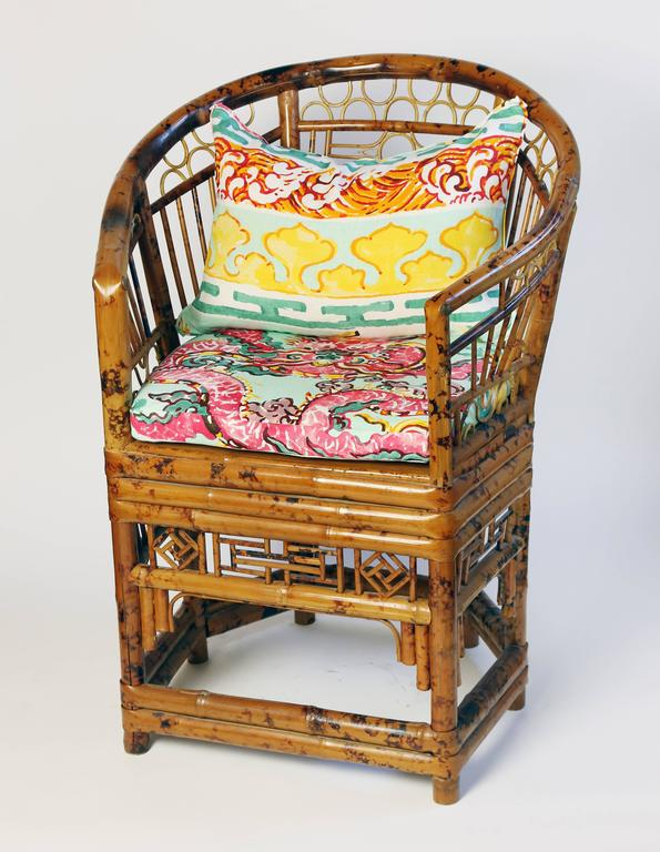 Pair Of Brighton Pavilion Chinoiserie Style Bamboo Chairs 2