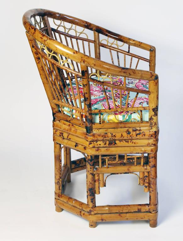 Pair Of Brighton Pavilion Chinoiserie Style Bamboo Chairs