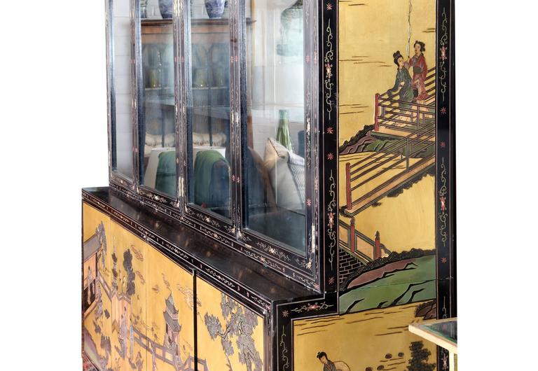 Chinese Coromandel Display Cabinet 2