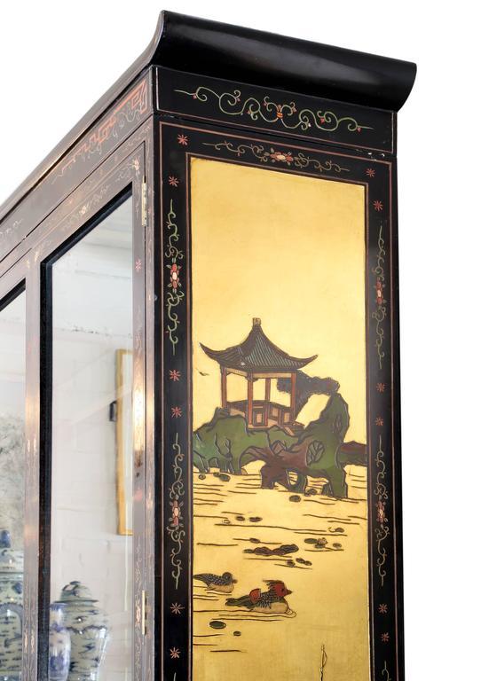 Chinese Coromandel Display Cabinet 4