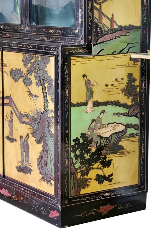 Chinese Coromandel Display Cabinet 5