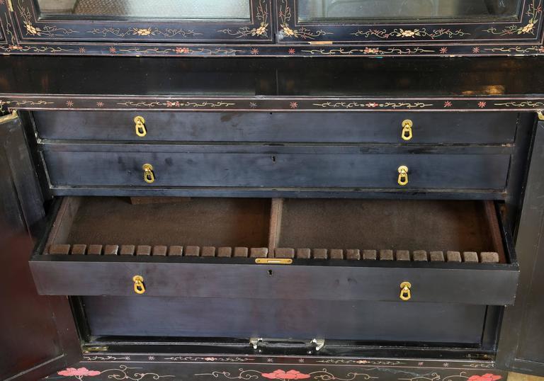 Chinese Coromandel Display Cabinet 6
