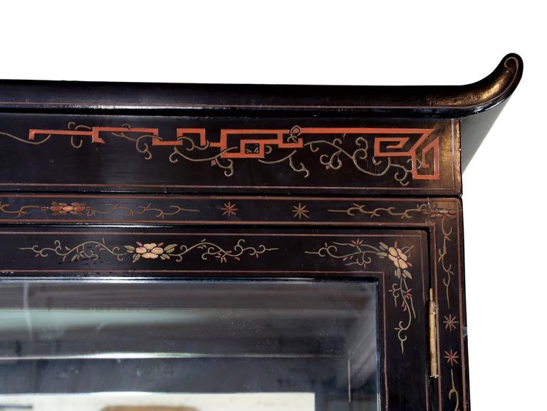 Chinese Coromandel Display Cabinet 7