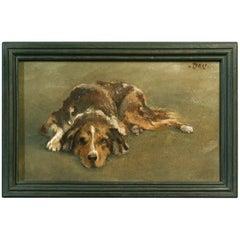 Dog Portrait British or American School, Early 20th Century