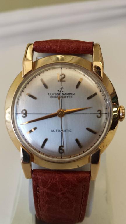 Ulysse Nardin Chronometer Automatic Men S Wristwatch 14k