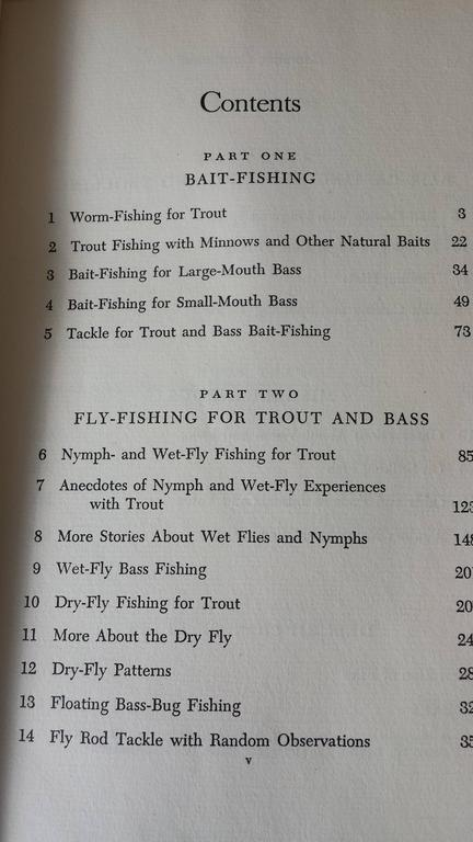 Paper 'With Fly, Plug & Bait' Signed Presentation Copy to Publisher, Leather Bound For Sale