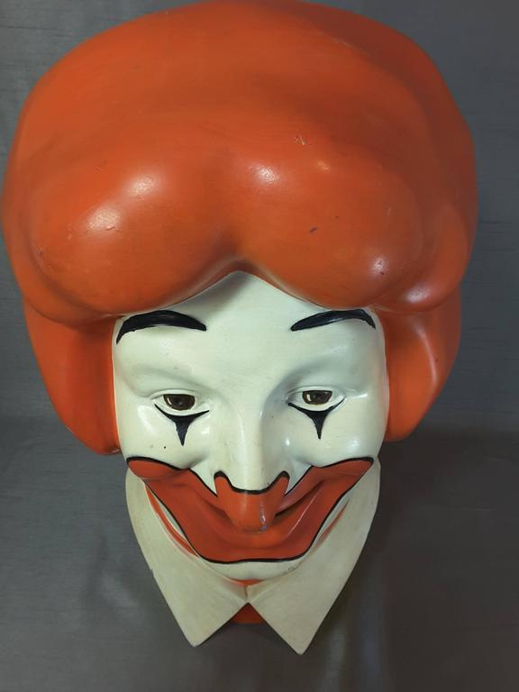 World S Most Famous Clown Quot Ronald Quot 1977 Licensed Mcdonald