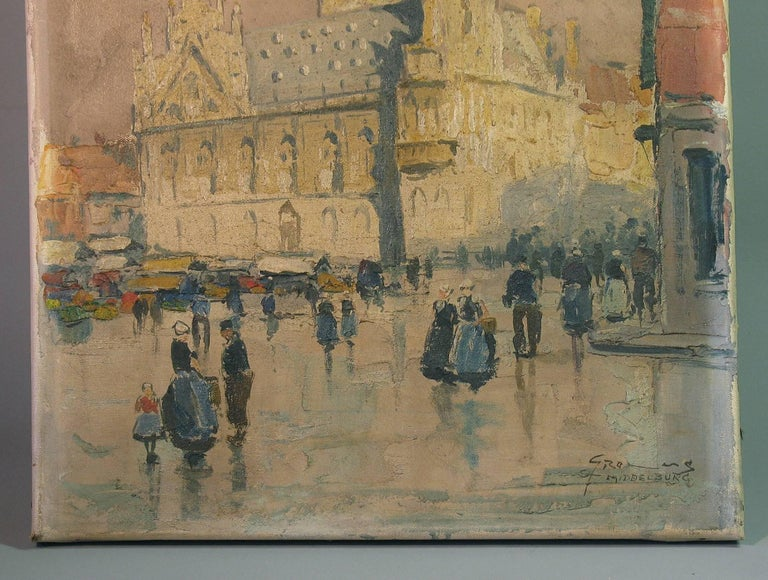 Gerhard Cohn Roemers, Oil on Canvas Painting For Sale 2