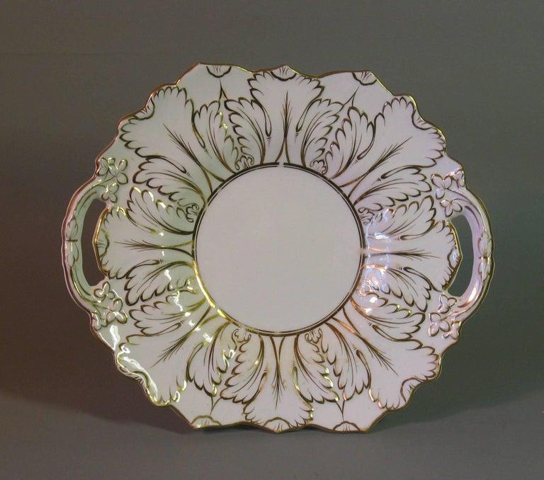 English Porcelain Part Tea Service, circa 1820-1830 In Good Condition For Sale In Ottawa, Ontario