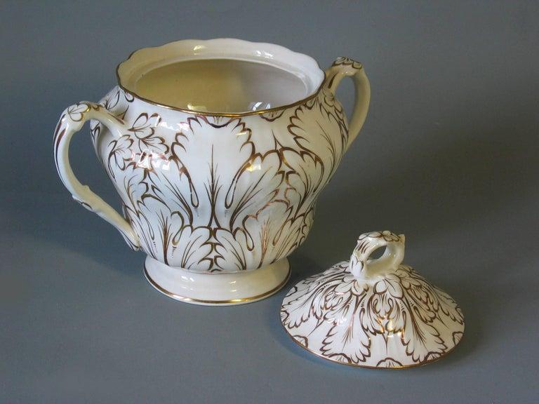 19th Century English Porcelain Part Tea Service, circa 1820-1830 For Sale