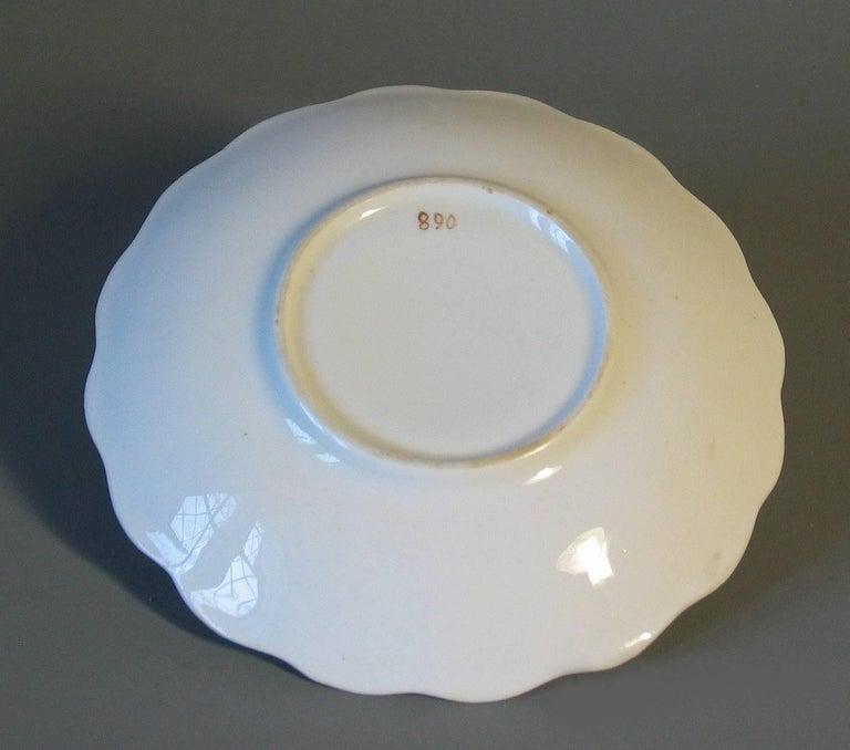 English Porcelain Part Tea Service, circa 1820-1830 For Sale 1