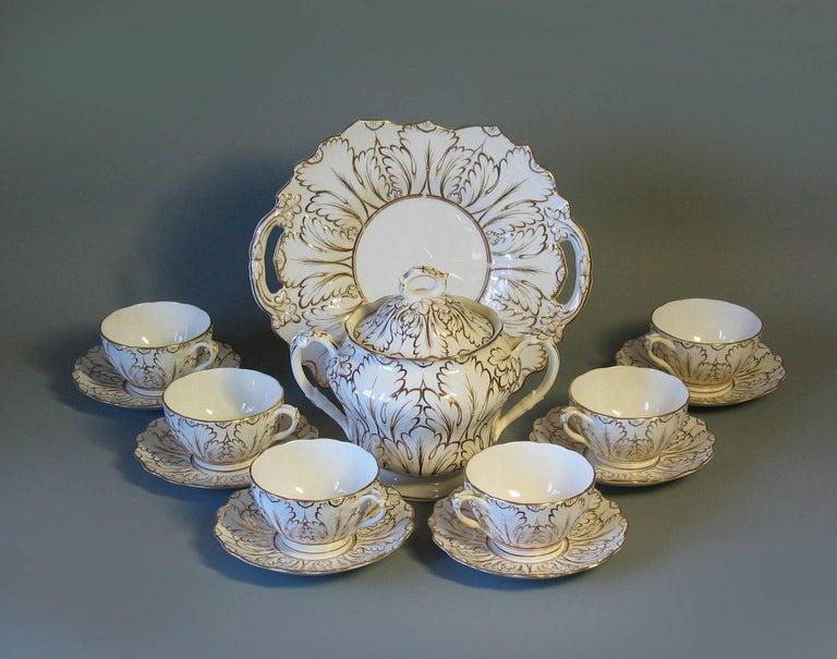 English Porcelain Part Tea Service, circa 1820-1830 For Sale 3