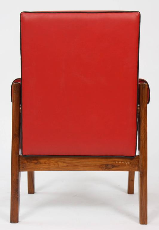 Le Corbusier (1887-1965) - Pierre Jeanneret (1896-1967) Furniture for Living Roo For Sale 1
