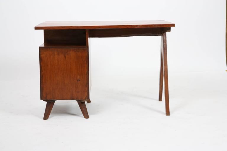 Mid-20th Century Pierre Jeanneret Administrative Desk For Sale