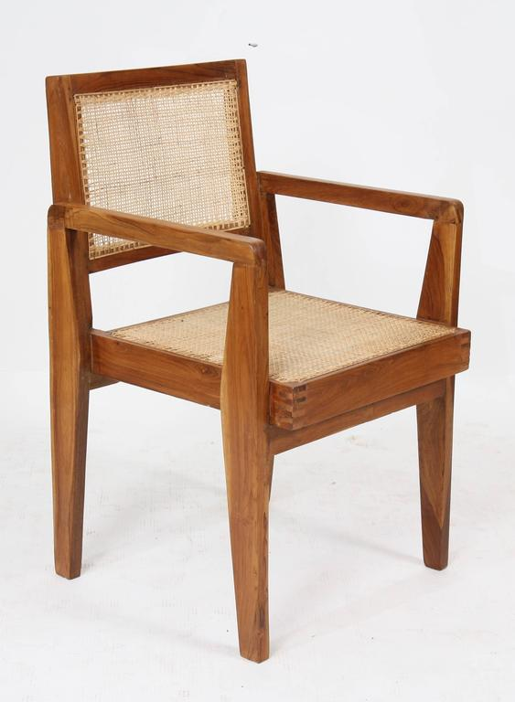 Pierre Jeanneret Set of Four Chairs