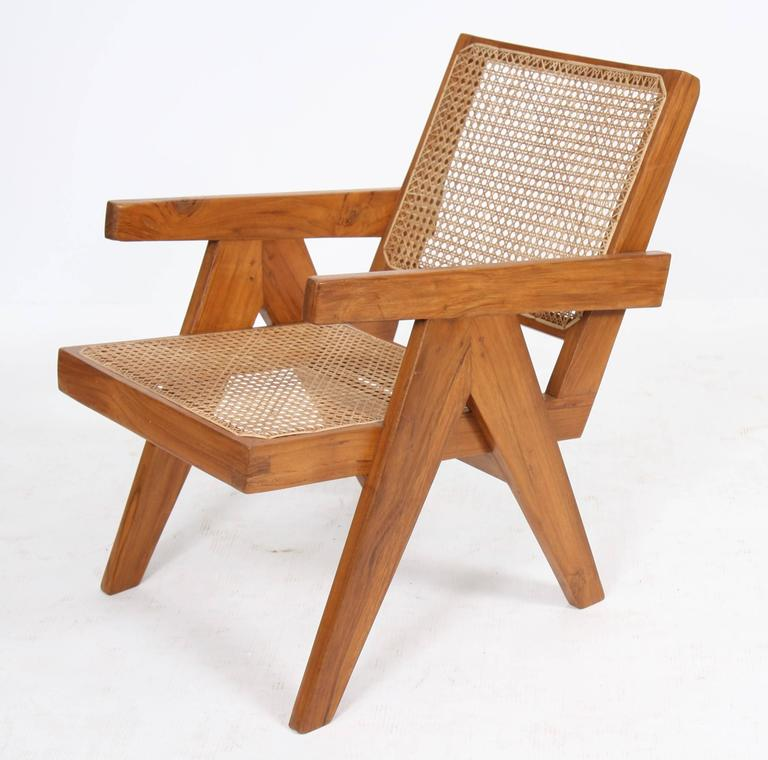"Indian Pierre Jeanneret, ""Easy Armchairs"" For Sale"