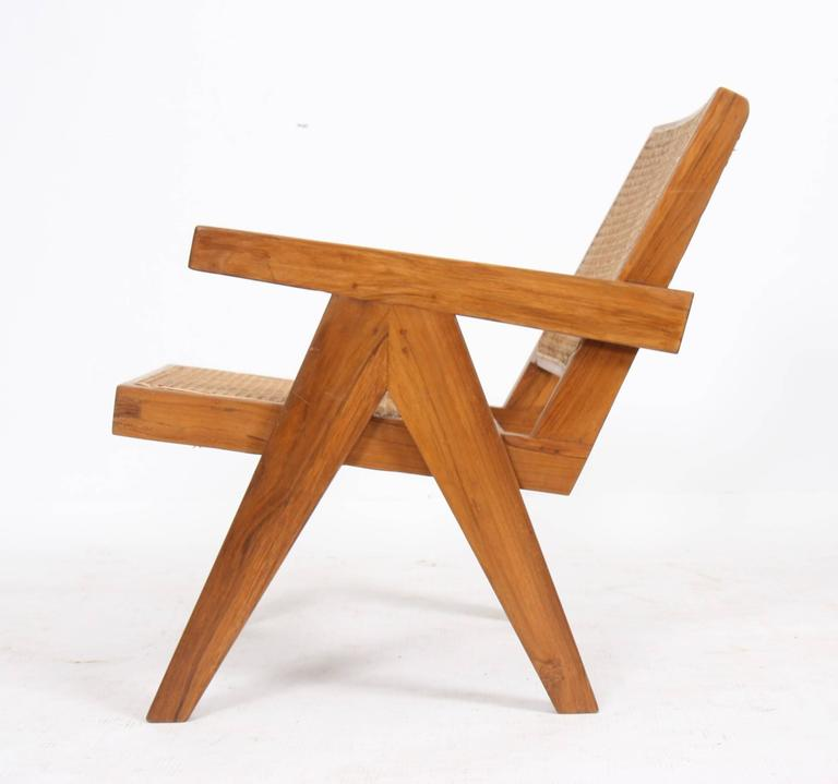 "Pierre Jeanneret, ""Easy Armchairs"" In Good Condition For Sale In Altwies, LU"