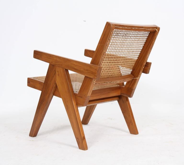 "Mid-20th Century Pierre Jeanneret, ""Easy Armchairs"" For Sale"