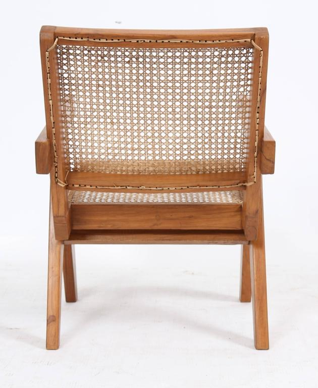 "Teak Pierre Jeanneret, ""Easy Armchairs"" For Sale"