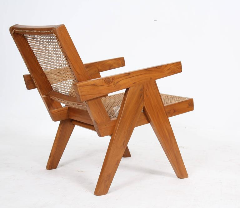 "Pierre Jeanneret, ""Easy Armchairs"" For Sale 1"