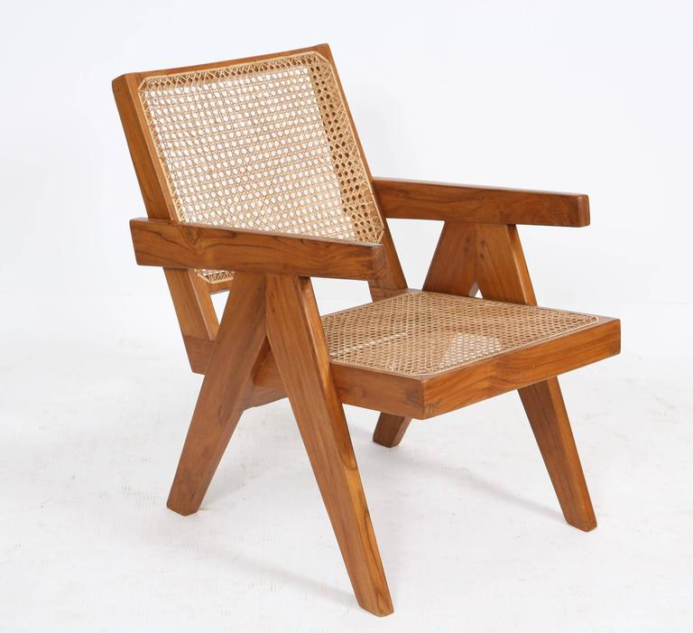"Pierre Jeanneret, ""Easy Armchairs"" For Sale 3"