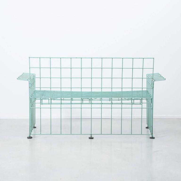 Bruno Munari Abitacalo Wire Sofa, Robots, Italy, 1972 In Good Condition In London, GB