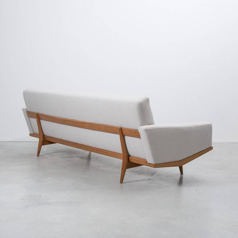 hw klein 221 four seat danish sofa for n a j rgensens denmark 1960 at 1stdibs. Black Bedroom Furniture Sets. Home Design Ideas