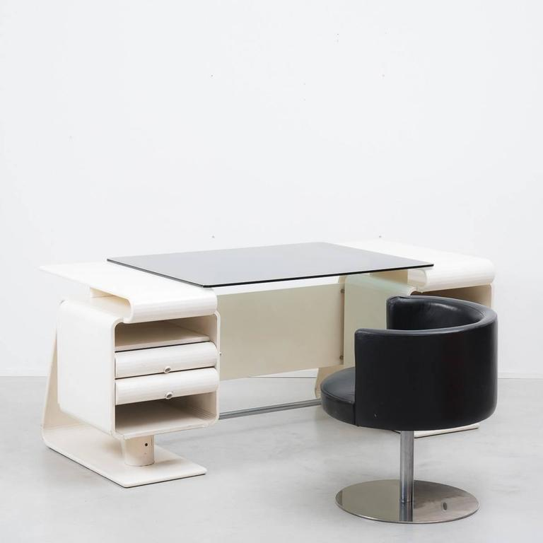 Italian Postmodern Desk And Chair Unknown 1970s Italy At