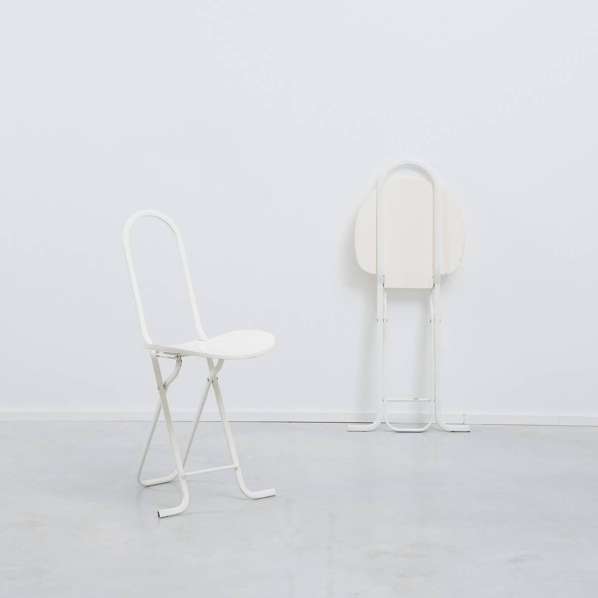 These Sleek But Practical Dafne Folding Chairs Were Designed By Gastone  Rinaldi For Thema Italy In