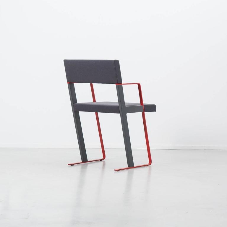 Dutch Post Modern Dick Spierenburg Castelijn Chairs, 1978