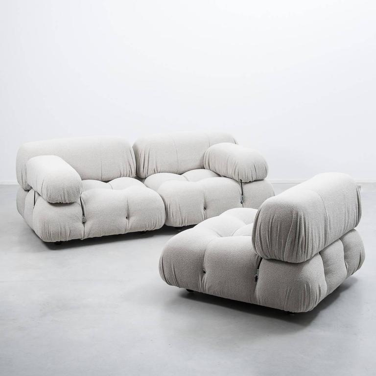 mario bellini camaleonda modular sofa b b italia italy 1970 at 1stdibs. Black Bedroom Furniture Sets. Home Design Ideas