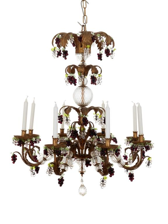 18th Century Style Genoese Chandelier Late 20th For 2