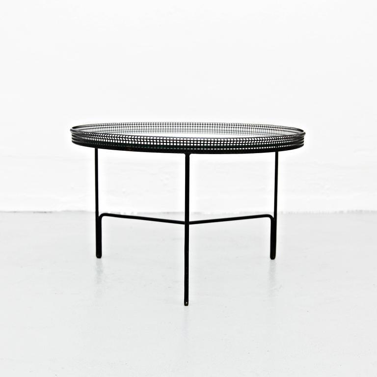 Mathieu Matégot Coffee Table, circa 1950 3