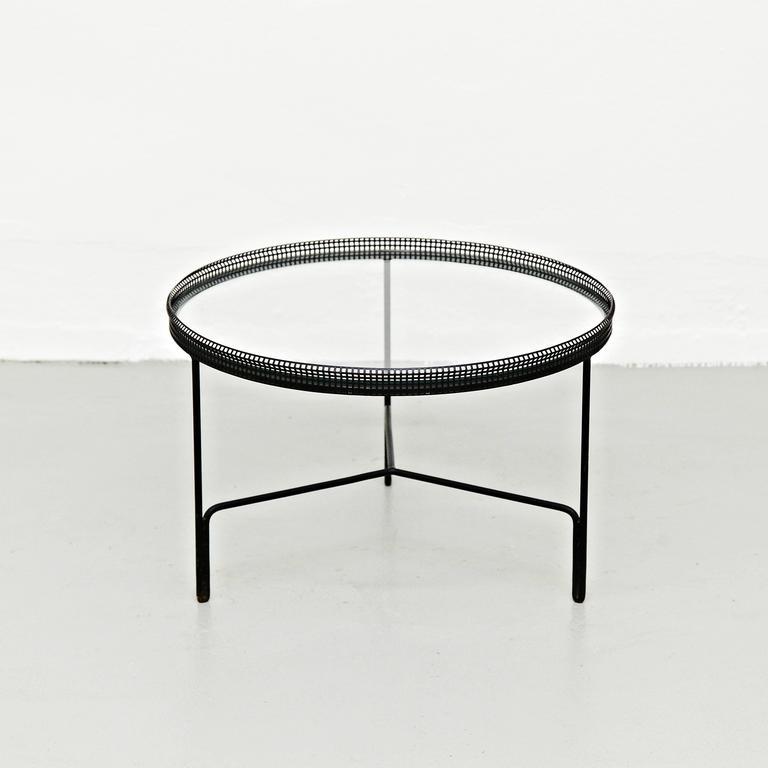 Mathieu Matégot Coffee Table, circa 1950 2