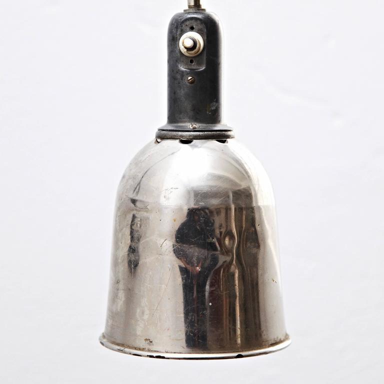 Mid-20th Century Johan Petter Johansson Triplex Wall Lamp, circa 1930 For Sale