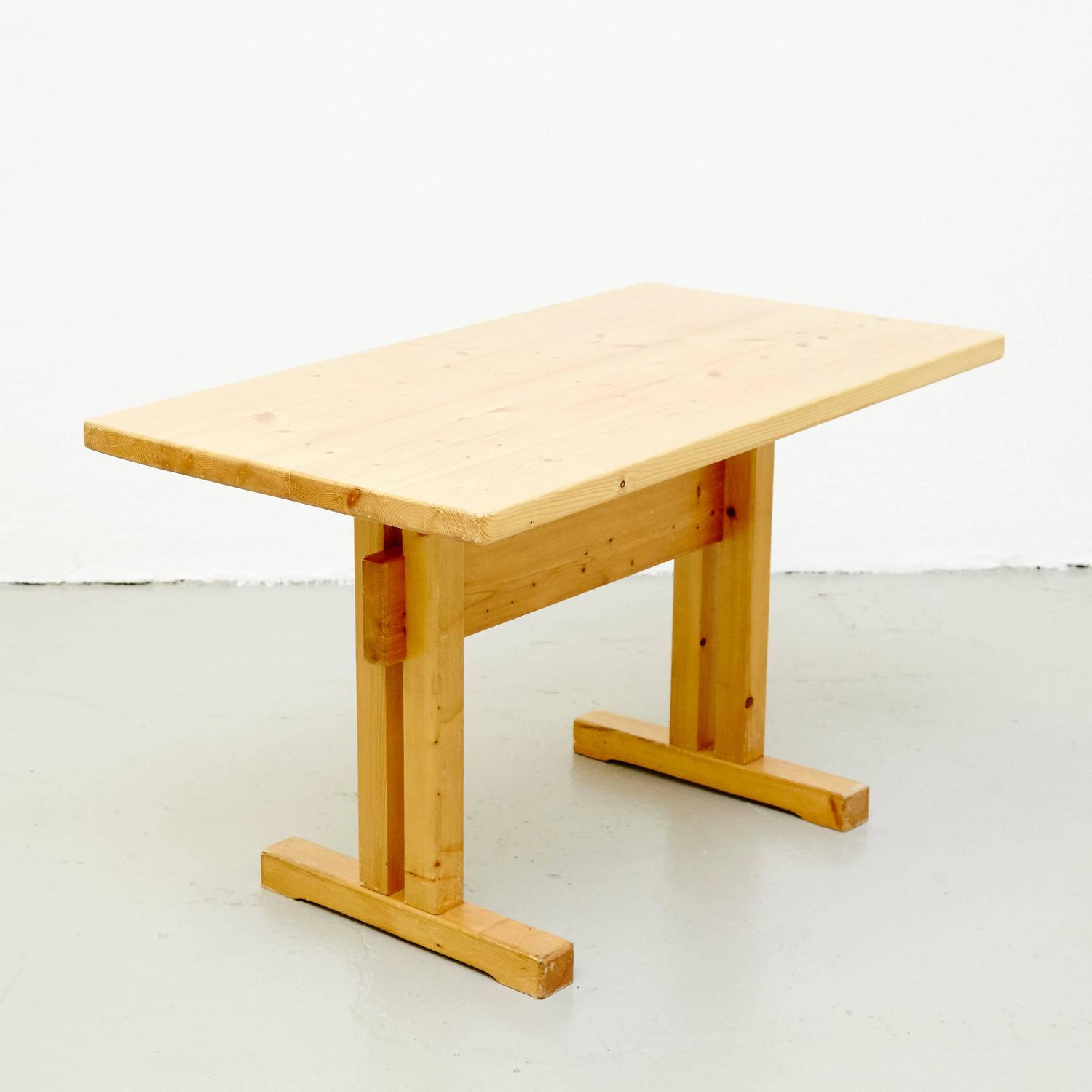 Charlotte perriand table for les arcs for sale at 1stdibs - Table charlotte perriand ...