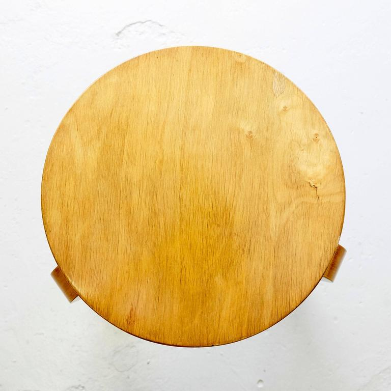 Alvar Aalto First Edition Wood Stool for Finmar, circa 1930 For Sale 3