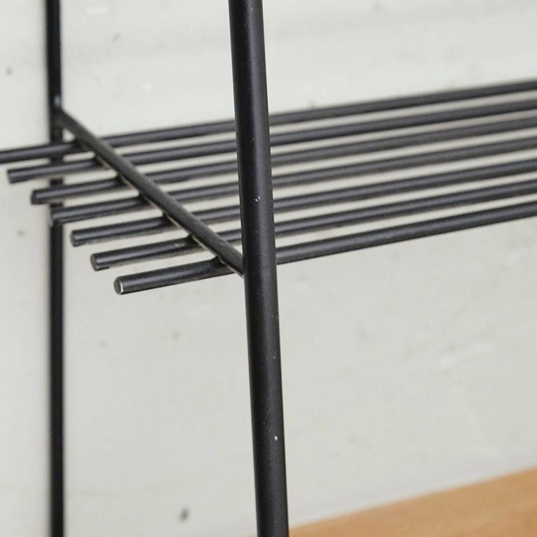 Metal Shelve in the Style of Mategot, circa 1950 For Sale
