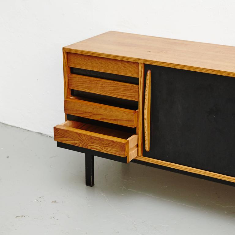 Mid-20th Century Charlotte Perriand Cansado Sideboard, circa 1950 For Sale