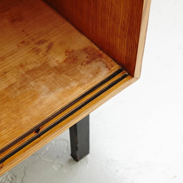 Wood Charlotte Perriand Cansado Sideboard, circa 1950 For Sale