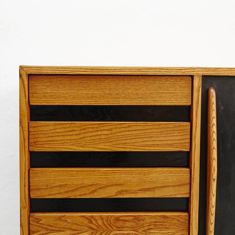 Charlotte Perriand Cansado Sideboard, circa 1950 For Sale 2