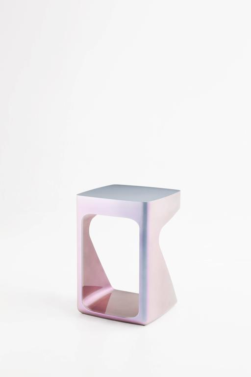 Modern Adolfo Abejon 'Orion' Side Table For Sale