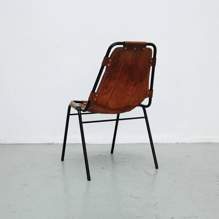 Les Arcs Chair Attributed To Charlotte Perriand Circa