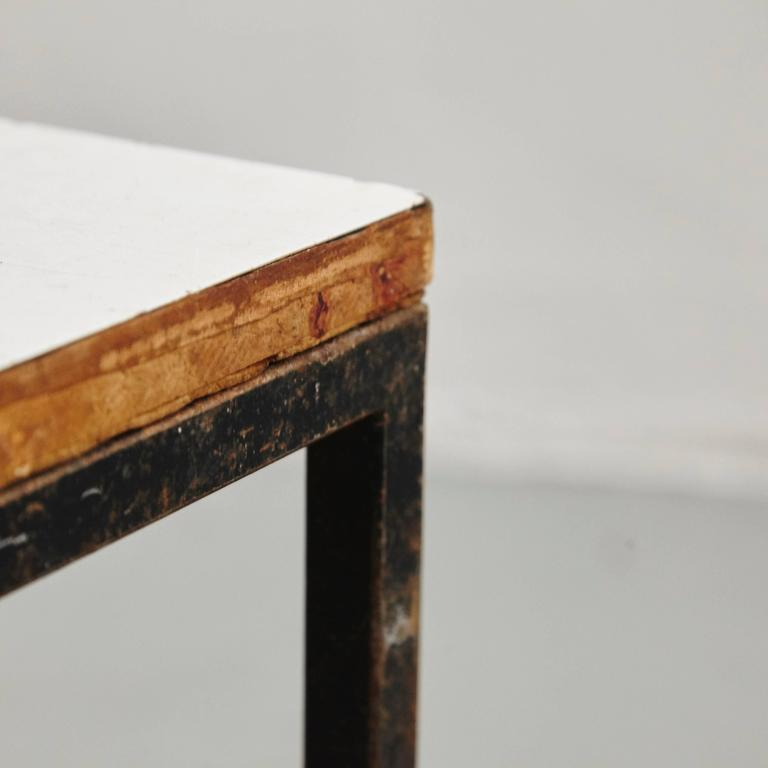 Pair of Florence Knoll T-Angle Side Tables, circa 1950 5
