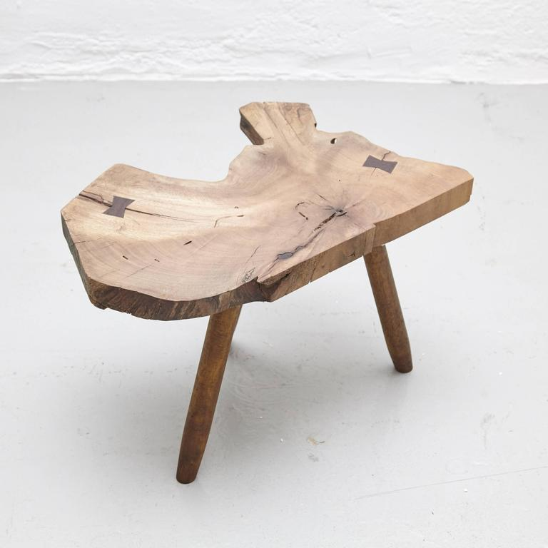 Stool in the Style of Nakashima 4