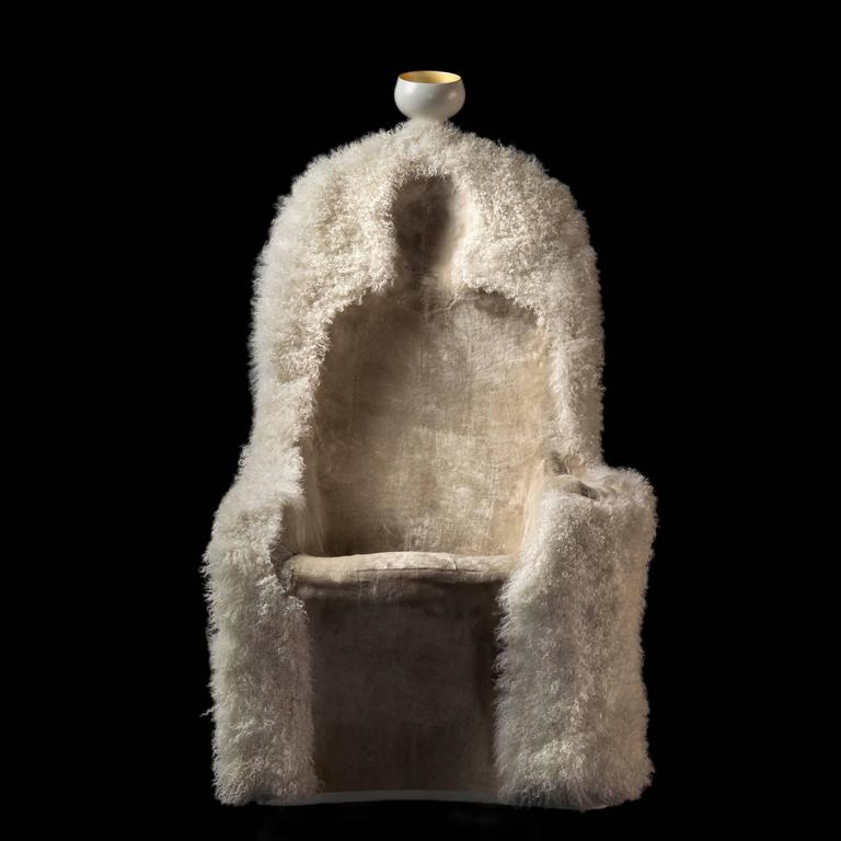 Salvador Dali Armchair Invisible Personage For Sale 1