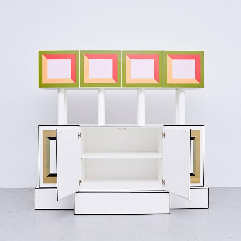 Modern Ettore Sottsass Piccoli Libri Cabinet, 1992 For Sale