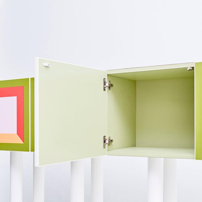 Late 20th Century Ettore Sottsass Piccoli Libri Cabinet, 1992 For Sale