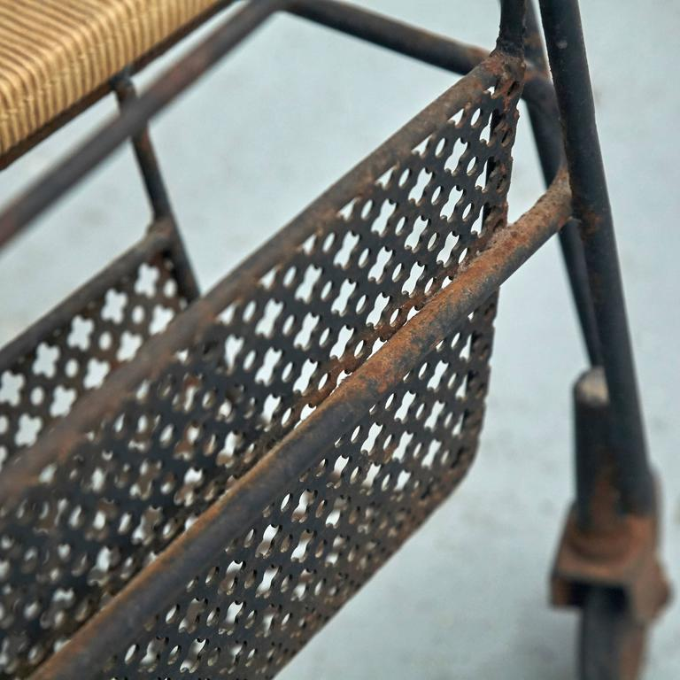 Mathieu Mategot Trolley, circa 1950 In Fair Condition For Sale In Barcelona, ES