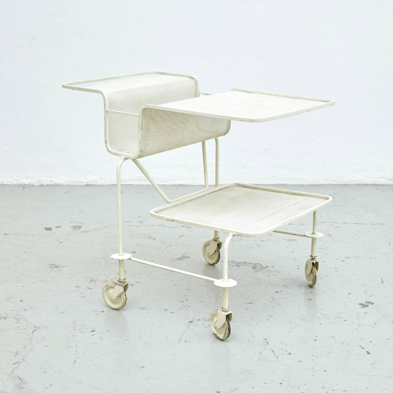 Mathieu Mategot Trolley, circa 1950 In Good Condition For Sale In Barcelona, ES